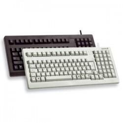 Cherry - G80-1800LPCEU-0 - Cherry G80-1800 Keyboard - Cable Connectivity - USB Interface - English (US) - Light Gray
