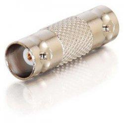 C2G (Cables To Go) / Legrand - 02030 - C2G BNC F/F Inline Adapter - 1 x BNC Female - 1 x BNC Female - Silver