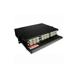 C2G (Cables To Go) - 39102 - C2G Q-Series 2u 6-Panel Rackmount Fiber Optic Enclosure - 2U