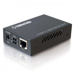 C2G (Cables To Go) - 26631 - C2G 10/100Base-TX to MM 100Base-FX ST Media Converter - 1 x RJ-45 , 1 x ST Duplex - 10/100Base-TX, 100Base-FX