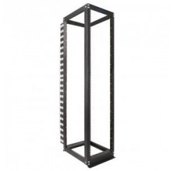 Rack Solution - 111-1728 - Rack Solutions 36U, Rack-111 Post Kit - 19 36U Wide for Server - Black Powder Coat - 3000 lb x Maximum Weight Capacity
