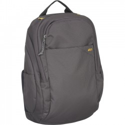STM Bags - STM-111-118M-56 - STM Prime Backpack for 13 Laptop and Tablet - Steel - Water Resistant - Dobby, Fabric - Shoulder Strap - 16.5 Height x 10.2 Width x 5.1 Depth