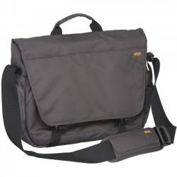 STM Bags - STM-112-117P-56 - STM Radial Messenger Bag for 15 Laptop and Tablet - Steel - Water Resistant - Dobby, Fabric - Shoulder Strap - 11 Height x 15.4 Width x 3.9 Depth