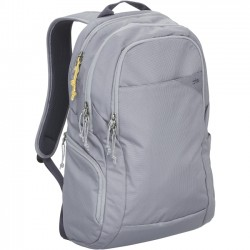 STM Bags - stm-111-119P-55 - STM Haven Backpack for 15 Laptop and Tablet - Frost Grey - Water Resistant - Dobby, Fabric - Shoulder Strap - 18.5 Height x 11 Width x 5.1 Depth