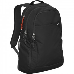 STM Bags - stm-111-119P-01 - STM Haven Backpack for 15 Laptop and Tablet - Black - Water Resistant - Dobby, Fabric - Shoulder Strap - 18.5 Height x 11 Width x 5.1 Depth