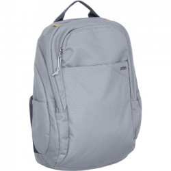 STM Bags - stm-111-118M-55 - STM Prime Backpack for 13 Laptop and Tablet - Frost Grey - Water Resistant - Dobby, Fabric - Shoulder Strap - 16.5 Height x 10.2 Width x 5.1 Depth