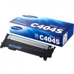 Samsung - CLT-C404S/XAA - Samsung CLT-C404S Original Toner Cartridge - Cyan - Laser - 1000 Pages