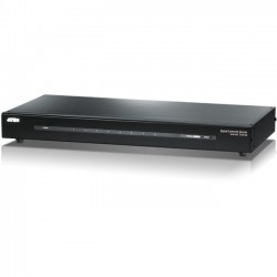 Aten Technologies - SN9108 - Aten SN9108 8-Port Serial Console Server - 9 x Network (RJ-45) x Serial Port - Gigabit Ethernet - Desktop