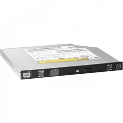 Hewlett Packard (HP) - P1N67AA - HP Internal Blu-ray Writer - BD-R/RE Support - SATA - Slimline