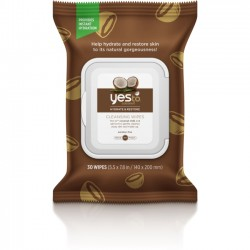 Yes To - 5437101 - Yes To Coconut Facial Cleansing Wipes 30 ct - Fabric - Moisturizing, Petroleum Free, Paraben-free - For Face, Body, Neck, Hand - 30 / Carton