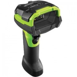 Zebra Technologies - DS3608-HD3U4602VZW - Zebra DS3608-HD Handheld Barcode Scanner - Cable Connectivity1D, 2D - Imager - Industrial Green
