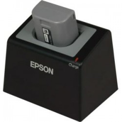Epson - C32C881014 - Epson Single Battery Cradle/Charger - 2.50 Hour Charging - AC Plug