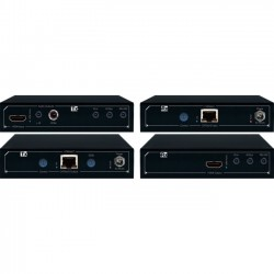 Key Digital Systems - KD-X411PROK - Key Digital FatCAT KD-X411PROK Video Console/Extender - HDBaseT/HDMI via Single CAT5e/6 Extenders, Audio De-Embedding, Ultra HD/4K, Full Buffer