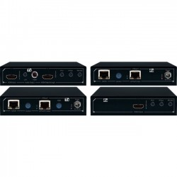Key Digital Systems - KD-X611PROK - Key Digital FatCAT KD-X611PROK Video Console/Extender - HDBaseT/HDMI via Single CAT5e/6 Extenders, Audio De-Embedding, Ultra HD/4K