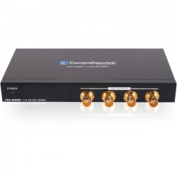 Comprehensive Cable & Connectivity - CDA-SDI400 - Comprehensive Pro AV/IT 3G-SDI 1 x 4 Splitter - 1920 x 1080 - 1000 ft Maximum Operating Distance - Metal