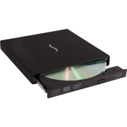 Sonnet Technologies - BRP-W-USB2 - Sonnet Blu-ray Reader/DVD-Writer - BD-ROM/DVD R/ RW Support - USB