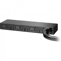 APC / Schneider Electric - AP6037A - APC by Schneider Electric Basic Rack PDU AP6037A - Basic - NEMA L15-30P - 3 x IEC 60320 C19 - 230 V AC - 8600 W - 0U/1U - Rack Mount
