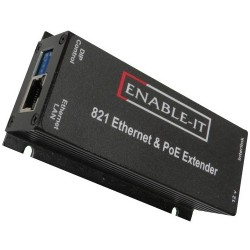 Enable-IT - 821P - Enable-IT 821P PoE Extender Kit - Network (RJ-45)