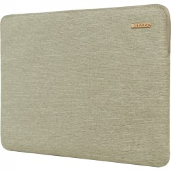 Incipio - CL60683 - Incase Slim Sleeve Carrying Case (Sleeve) for 15 MacBook Pro (Retina Display) - Heather Khaki - Bump Resistant, Scratch Resistant - Poly, 300D Ecoya