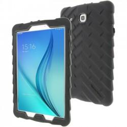 Gumdrop Cases - DT-STE-BLK_BLK - Gumdrop DropTech Case for Samsung Galaxy Tab E 9.6 - Tablet - Black - Rubber