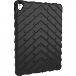 Gumdrop Cases - DT-IPADPRO9-BLK - Gumdrop DropTech Case for iPad Pro 9.7 - iPad Pro - Black - Textured - Rubber, Acrylonitrile Butadiene Styrene (ABS), Silicone, Nylon