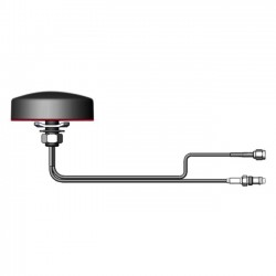 AG Antenna Group - CP46BBCG - AG Antenna Group AG46 Antenna - 700 MHz, 1.71 GHz to 990 MHz, 2.19 GHz - 3 dBi - Cellular Network, GPS - Black - Omni-directional - RF Connector