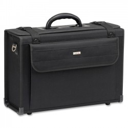 Solo Cases - PV50-4 - Solo Classic 16 Catalog Case - Handle, Shoulder Strap16 Screen Support - 12 x 18 x 7.75 - Polyvinyle, Vinyl - Black