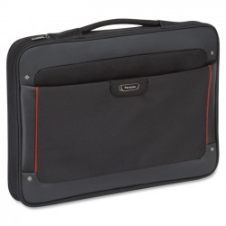 Solo Cases - STL140-4 - Solo Sterling STL140-4 Carrying Case (Briefcase) for 17.3 Notebook - Water Resistant Bottom - Vinyl, Polyester - Handle - 12 Height x 16.5 Width x 2 Depth