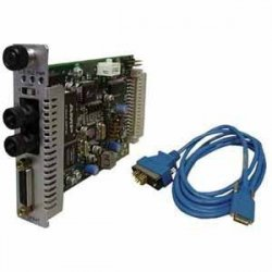 Transition Networks - CPSVT2611-100 - Transition Networks Point System Slide-In-Module Media Converter - 1 x DB-26 Serial, 1 x ST Duplex