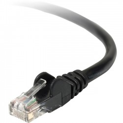 Belkin / Linksys - TAA980-05-BLK-S - Cable, Cat6, Utp, Rj45m/m, 5, Blk, Patch, Snag