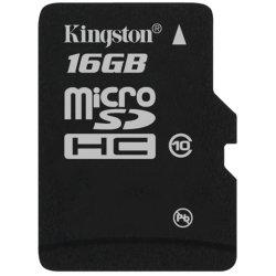 Kingston - SDC4/16GBSP - 16GB SDC4/16GBSP microSD High Capacity (microSDHC) Class 4