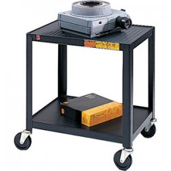 Bretford - 26-E4 - Bretford 26-E4 Assembled Mobile A/V Cart - Steel - Black