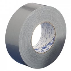 "3M - MMM 3939-2 - 3M Polyethylene Coated Duct Tape - 1.88"" Width x 60 yd Length - 3"" Core - Rubber - 8.60 mil - Polyethylene Coated Cloth Backing - 1 / Roll - Silver"