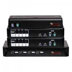 Avocent - 4SV120BND1 - Avocent SwitchView 100 4-Port USB KVM Switch - 4 x 1 - 4 x HD-15