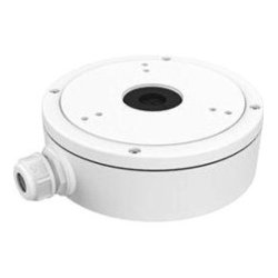 Hikvision - CBM - Hikvision Mounting Box for Network Camera - Aluminum Alloy - White