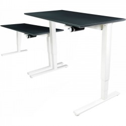 Humanscale - 2454WHF - Humanscale Float Utility Table Top - Rectangle Top - 54 Table Top Width x 24 Table Top Depth - Laminated, White