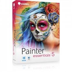 Corel - PE5EFAMMB - Corel Painter Essentials v.5.0 - Box Pack - User - Image Editing - Mini Box - DVD-ROM - English, French - PC, Intel-based Mac