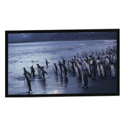 "Draper - 800015 - AccuScreens Fixed Frame Projection Screen - 55"" x 72"" - Matte White - 84"" Diagonal"