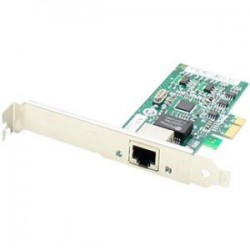 AddOn - 394791-B21-AO - AddOn HP 394791-B21 Comparable 10/100/1000Mbs Single Open RJ-45 Port 100m PCIe x4 Network Interface Card - 100% compatible and guaranteed to work