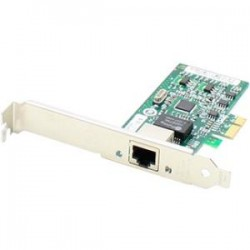 AddOn - 430-1792-AO - AddOn Dell 430-1792 Comparable 10/100/1000Mbs Single Open RJ-45 Port 100m PCIe x4 Network Interface Card - 100% compatible and guaranteed to work