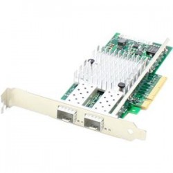 AddOn - 42C1800-AO - AddOn IBM 42C1800 Comparable 10Gbs Dual Open SFP+ Port Network Interface Card with PXE boot - 100% compatible and guaranteed to work