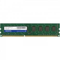 A-DATA Technology - AD3U1600W8G11-B - Adata DDR3 1600 240 Pin Unbuffered DIMM - 8 GB (1 x 8 GB) - DDR3 SDRAM - 1600 MHz DDR3-1600/PC3-12800 - 1.50 V - Non-ECC - Unbuffered - 240-pin - DIMM - Bulk