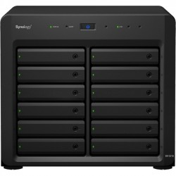 Synology - DX1215 - Synology DX1215 Drive Enclosure External - 12 x HDD Supported - 12 x SSD Supported - Serial ATA/600 Controller - 12 x Total Bay - 12 x 2.5/3.5 Bay - Infiniband - Cooling Fan