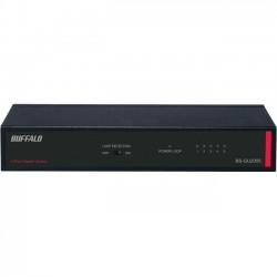 Buffalo Technology - BS-GU2005 - BUFFALO 5-Port Desktop Gigabit Green Ethernet Switch (BS-GU2005) - 5 x RJ-45 - 10/100/1000Base-T - Metal Chassis - Lifetime Warranty*