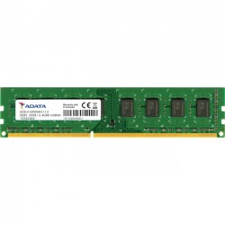 A-DATA Technology - AD3U1600W8G11-S - Adata Premier 8GB DDR3 SDRAM Memory Module - 8 GB - DDR3 SDRAM - 1600 MHz DDR3-1600/PC3-12800 - 1.50 V - Non-ECC - Unbuffered - 240-pin - DIMM