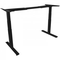 Peripheral Logix - UP-1001-B - Ergoprise Uprise Height Adjustable Desk Base - x 74 Width - Black