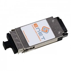 eNet Components - 10017-ENC - Extreme Compatible 10017 - Functionally Identical 1000BASE-ZX GBIC 1550nm Duplex SC Connector - Programmed, Tested, and Supported in the USA, Lifetime Warranty