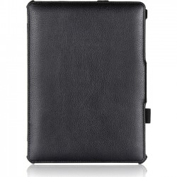 Amzer - 97198 - Amzer Carrying Case (Portfolio) for 10.5 Tablet - Black - Scratch Resistant - Vegan Leather, MicroFiber - Textured - Hand Strap