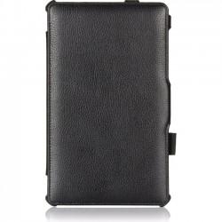 Amzer - 97197 - Amzer Carrying Case (Portfolio) for 8.4 Tablet - Black - Scratch Resistant - Vegan Leather, MicroFiber - Textured - Hand Strap