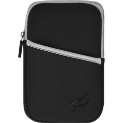 Amzer - 92913 - Amzer Carrying Case (Sleeve) for 8 Tablet, Cable, Headphone, Charger - Black - Water Resistant, Bump Resistant, Scratch Resistant, Dust Resistant - Neoprene